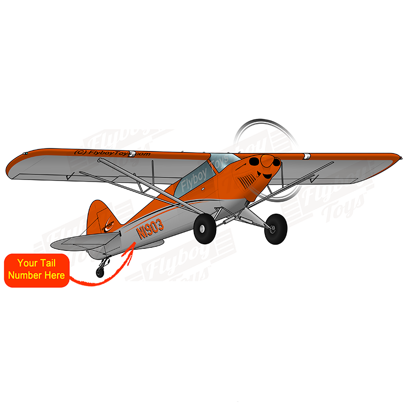 Airplane Design (Orange) - AIR3L2FX3-O1