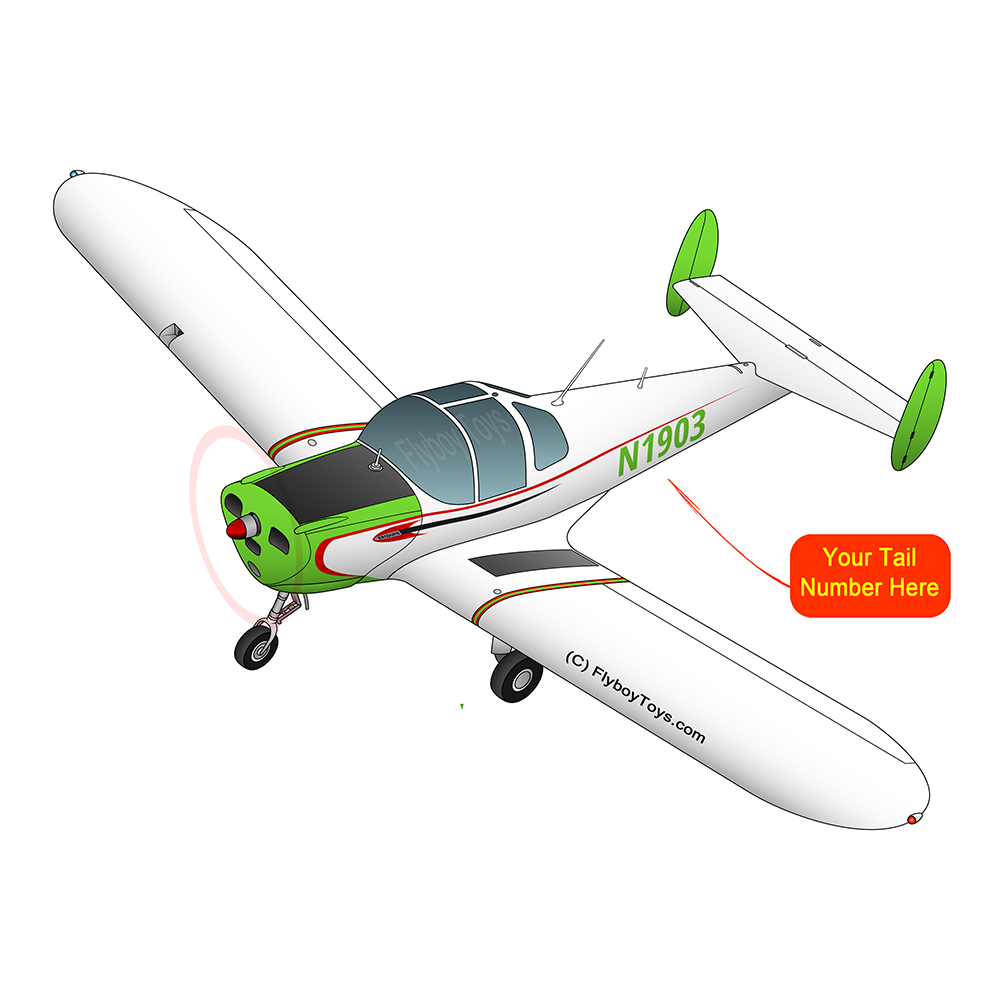 Airplane Design (Green) - AIR5I3415C-G1