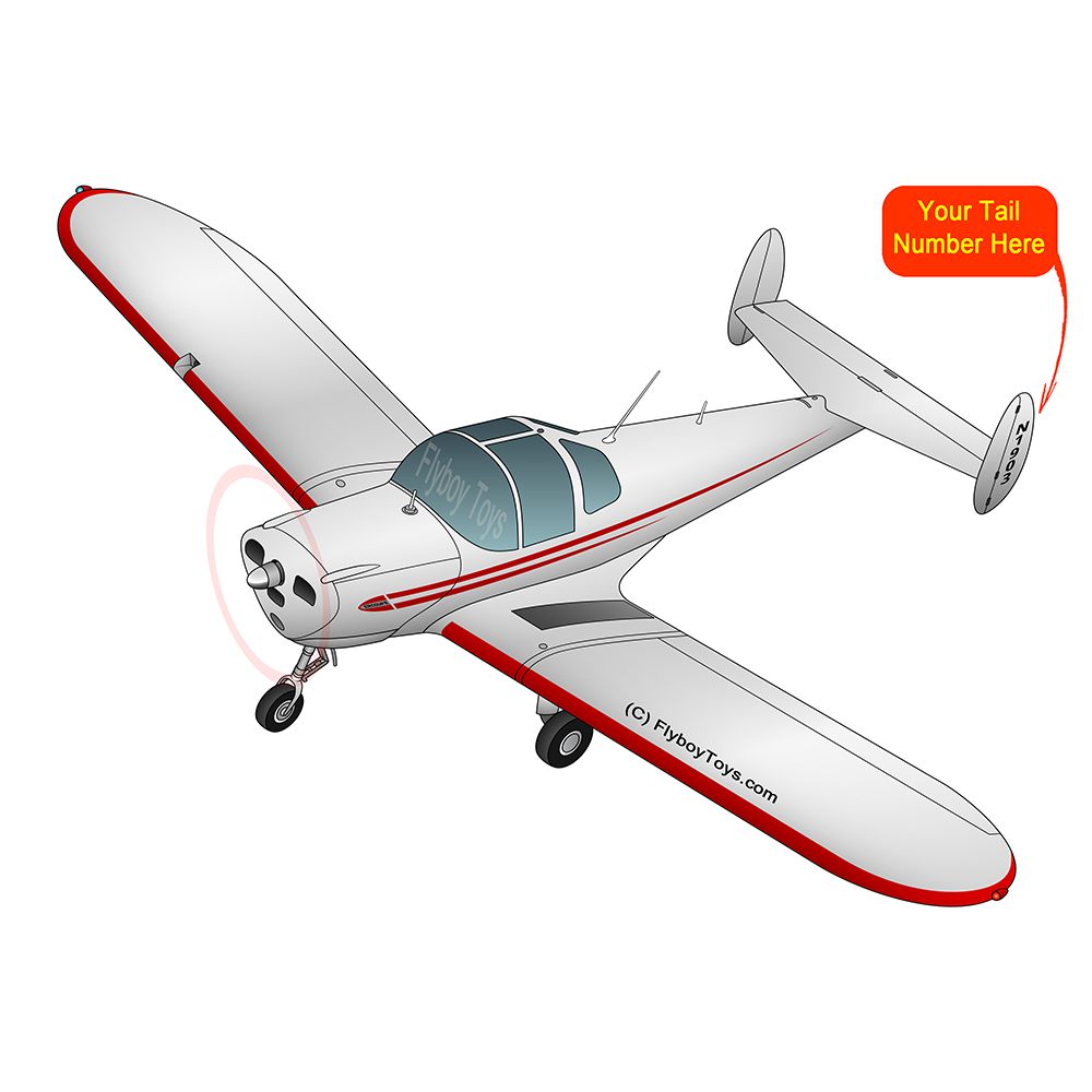 Airplane Design (Red) - AIR5I3415C-R1