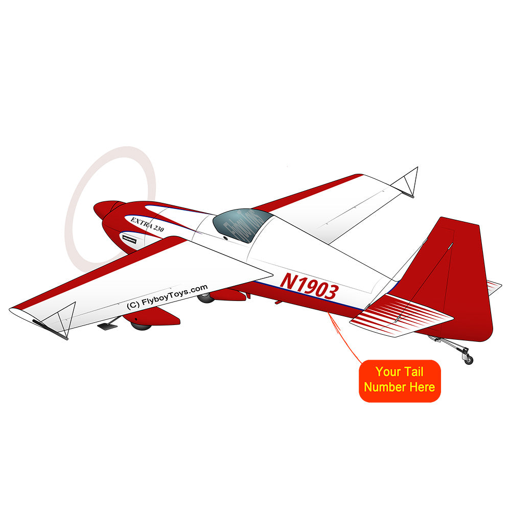 Airplane Design (Red #2) - AIR5OK230-R2