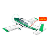 Airplane Design (Green) - AIR7IL385AA5-G1