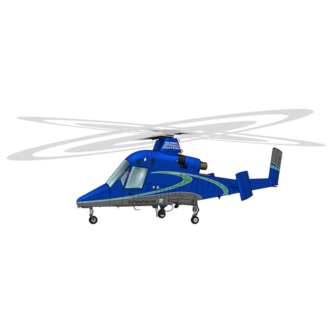 Helicopter Design (Blue) - AIRBD1BD1-B1