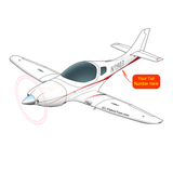 Airplane Design (Red) - AIRC1EC57-R1