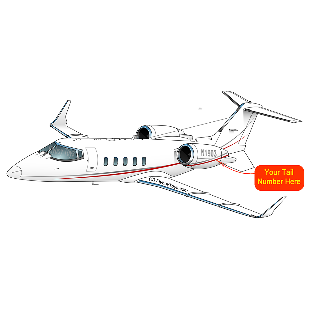 Airplane Design (Red/Silver) - AIRC5160XR-RS1