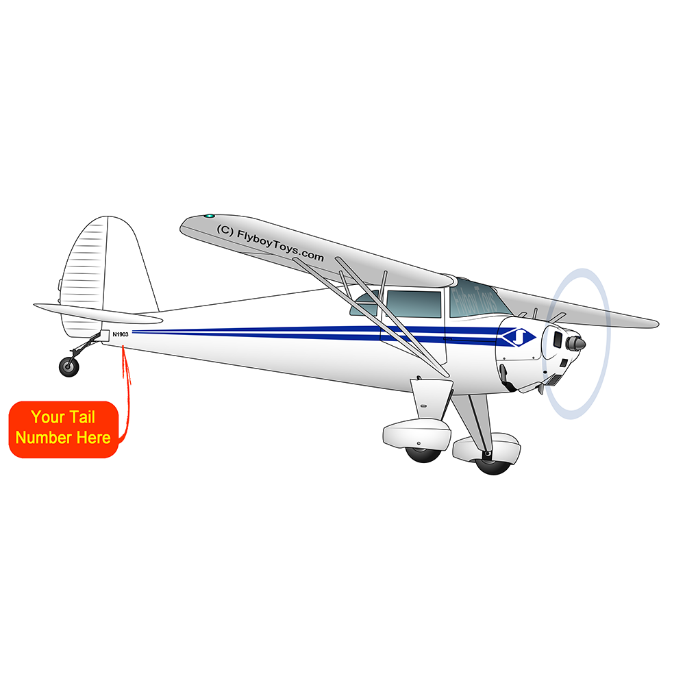 Airplane Design (Blue) - AIRCLJ8E-B1
