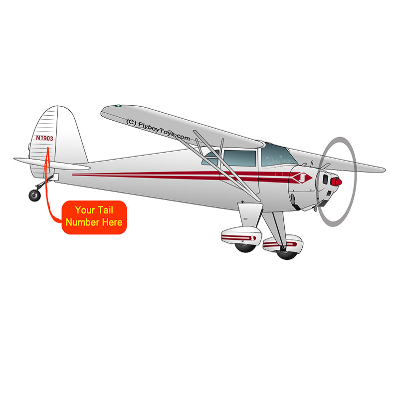 Airplane Design (Red) - AIRCLJ8A-R1