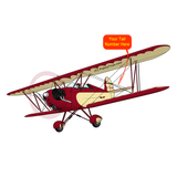 Airplane Design (Cream/Red) - AIRD1B81KCB1-RC1