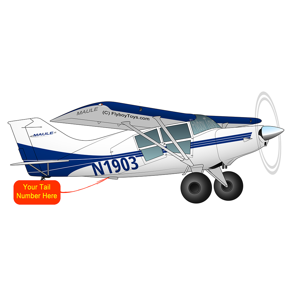 Airplane Design (Blue) - AIRD1LM7-B1