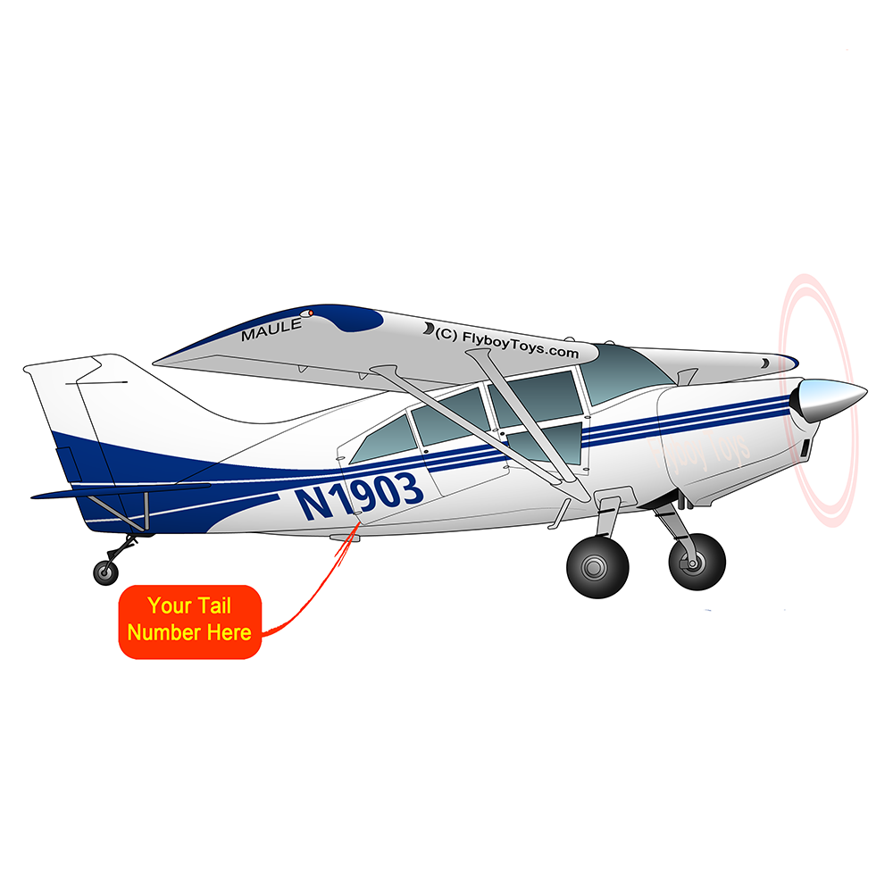 Airplane Design (Blue) - AIRD1LOR-B1