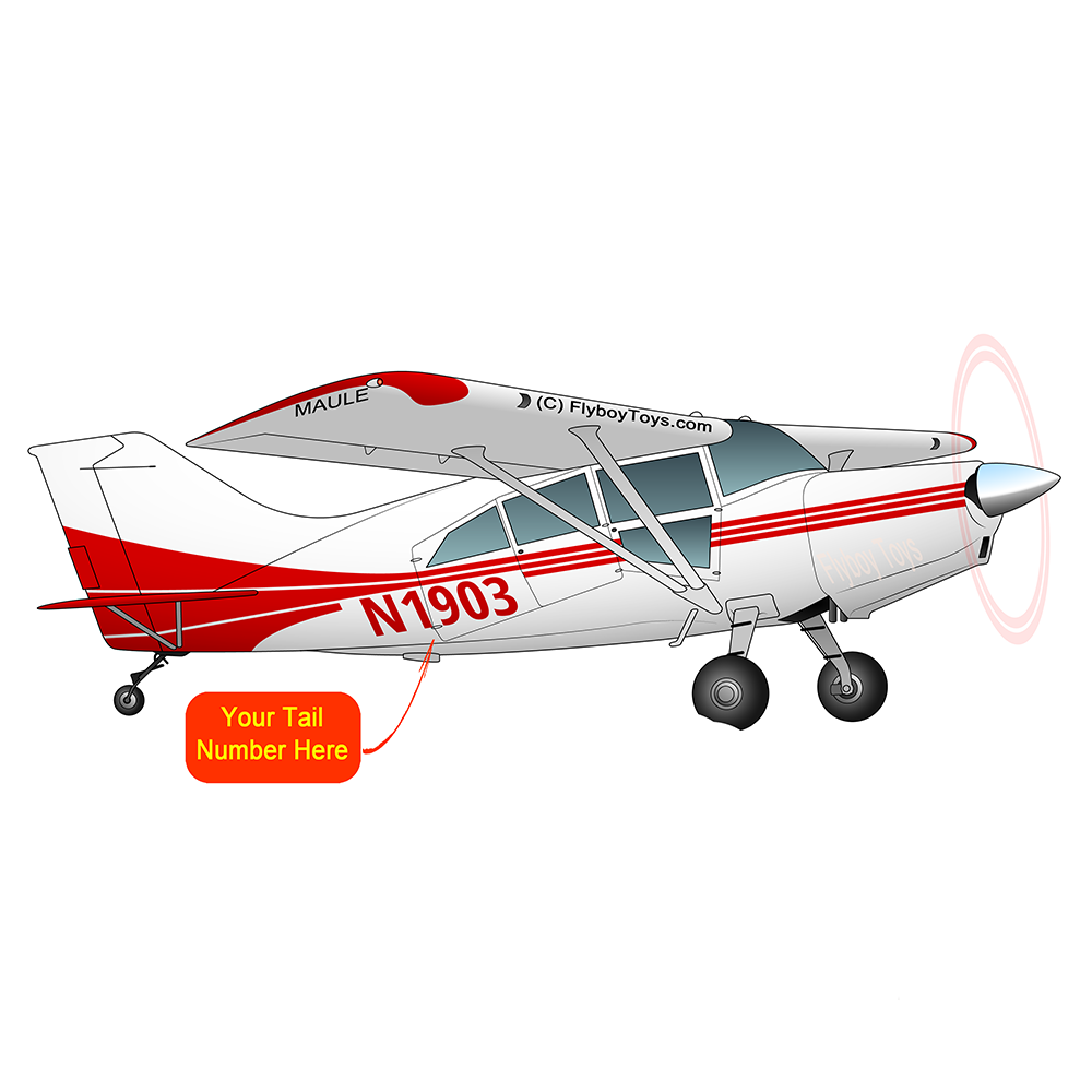 Airplane Design Red) - AIRD1LOR-R1
