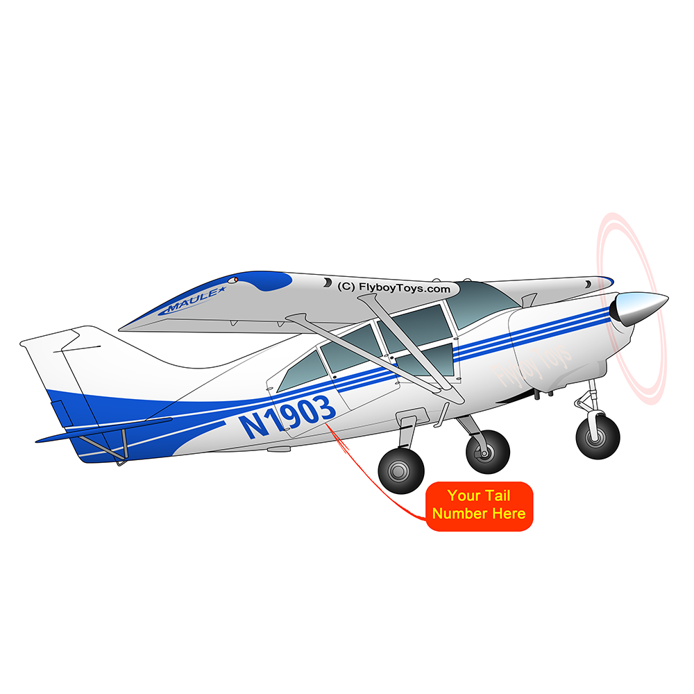 Airplane Design (Blue) - AIRD1LSR-B1