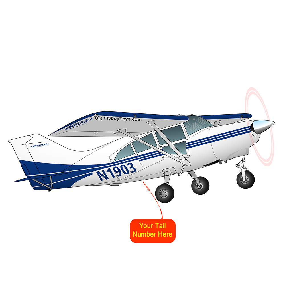 Airplane Design (Blue #2) - AIRD1LSR-B2