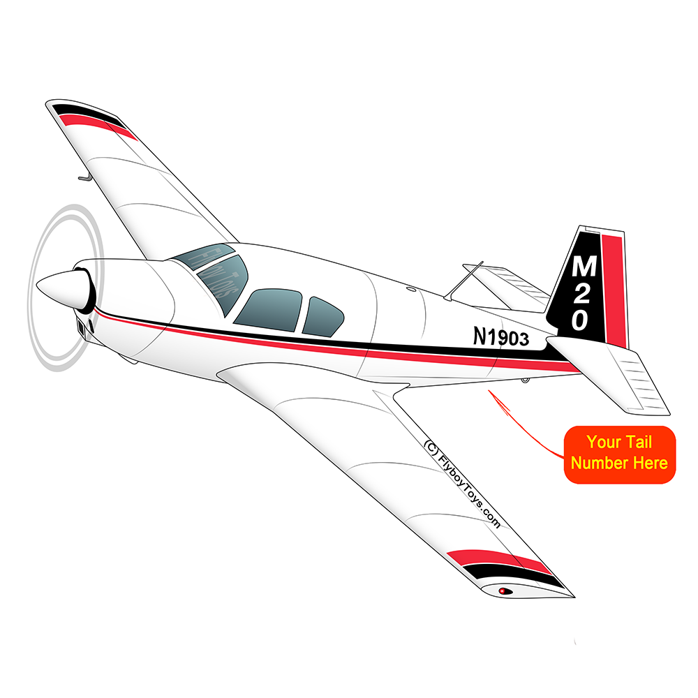 Airplane Design (Blue/Red) - AIRDFFM20-BR1