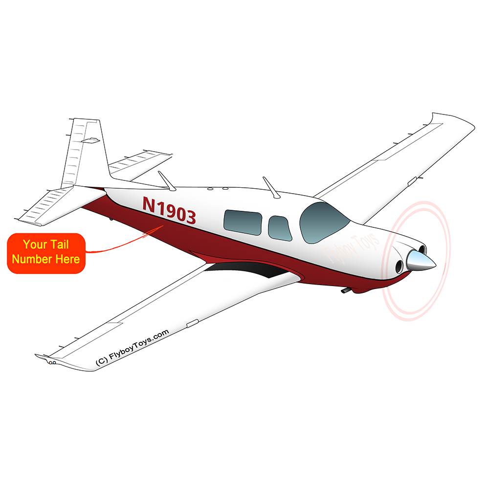 Airplane Design (Maroon) - AIRDFFM20D-M1