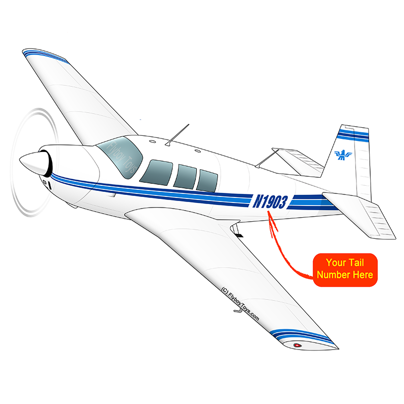 Airplane Design (Blue) - AIRDFFM20-B1