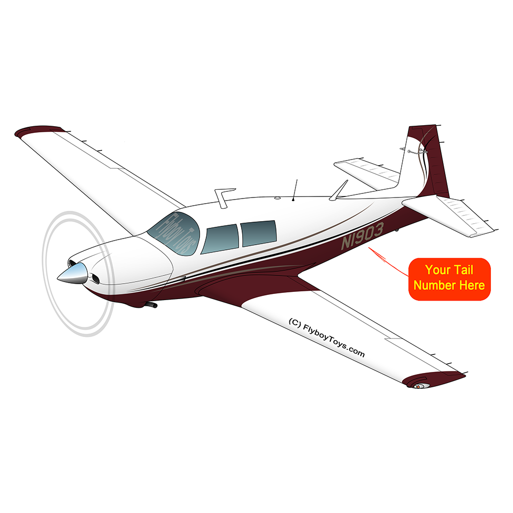 Airplane Design (Maroon) - AIRDFFM20K-M1