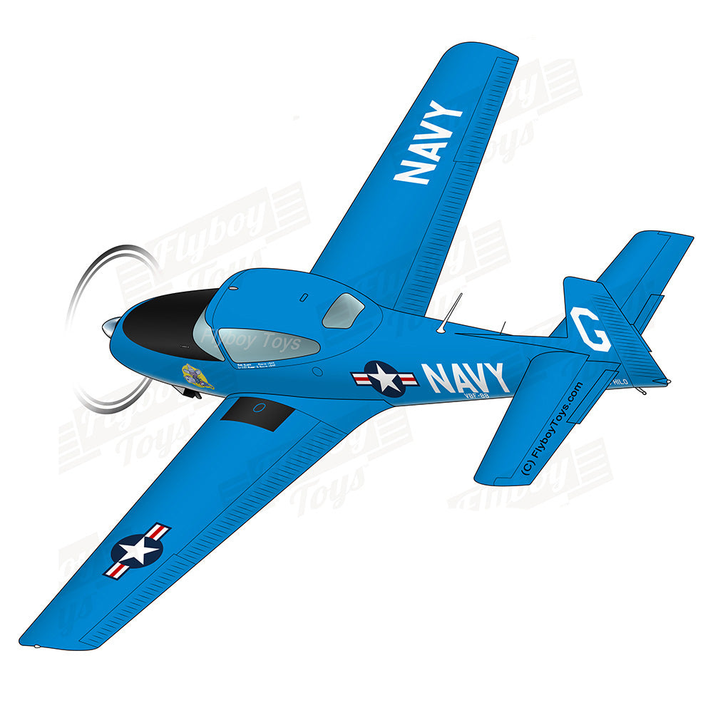 Airplane Design (Blue) - AIRE1MB-B1