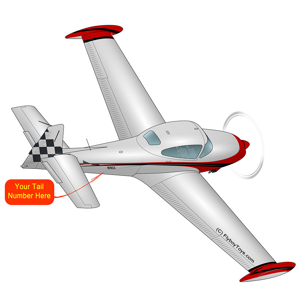 Airplane Design (Red) - AIRE1MNA145-R1