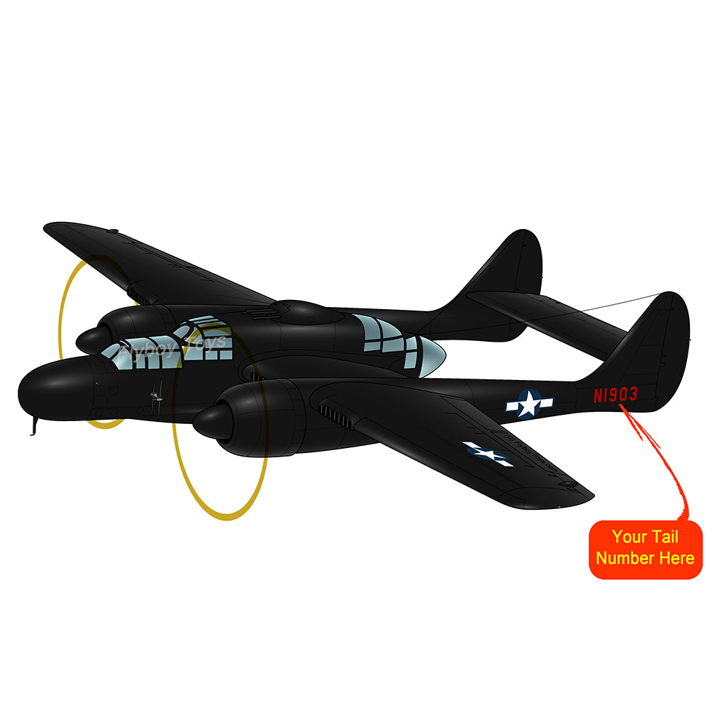 Airplane Design (Black) - AIREFIP61-B1