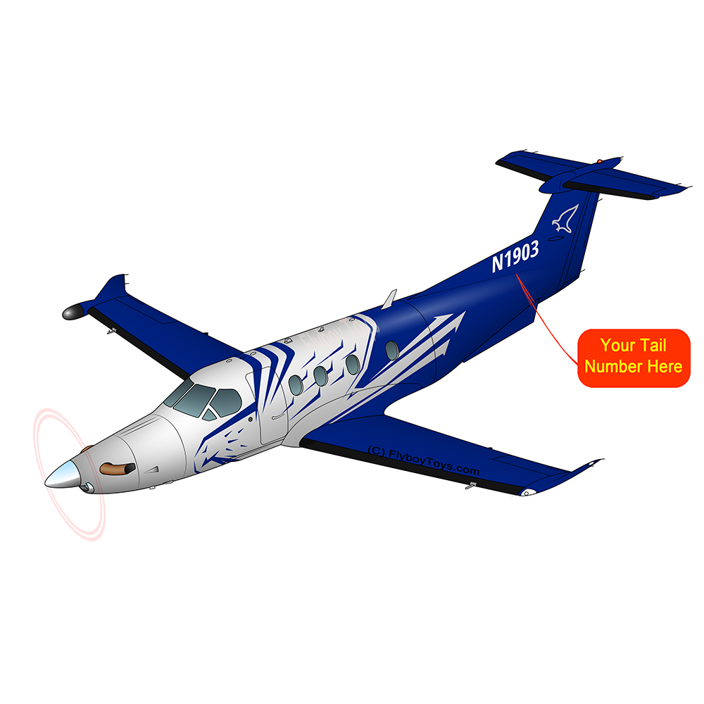 Airplane Design (Blue) - AIRG9CPC12-B1