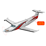 Airplane Design (Red/Black) - AIRG9CPC12