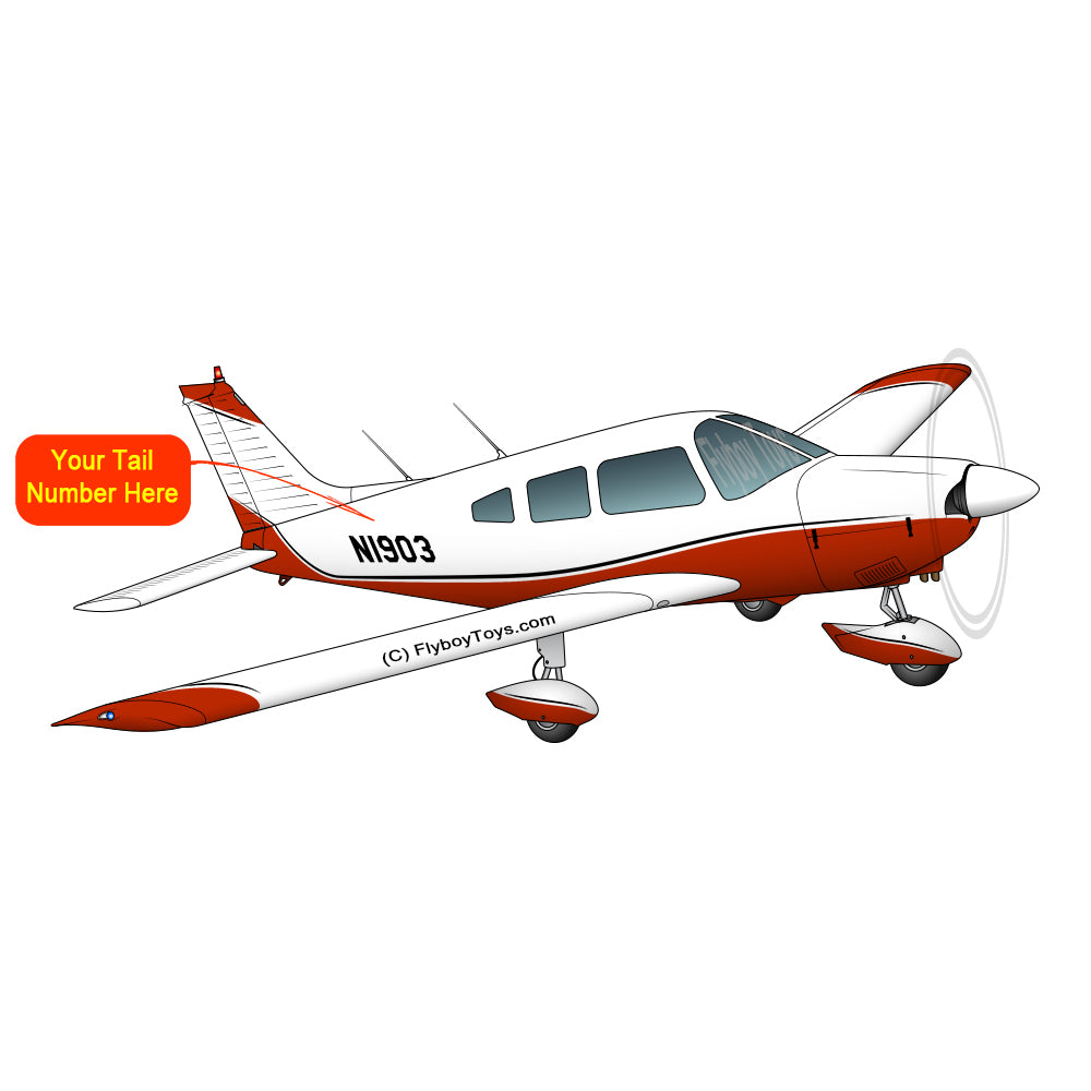 Airplane Design (Red #2) - AIRG9G1I3II-R2