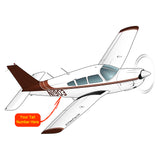 Airplane Design (Brown #2) - AIRG9G1II-B2