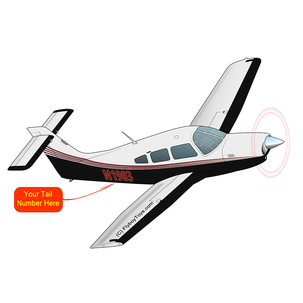 Airplane Design (Red/Black) - AIRG9G1IIT-RB1