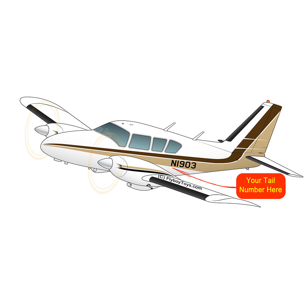 Airplane Design (Brown/Tan) - AIRG9G1QK-BT1