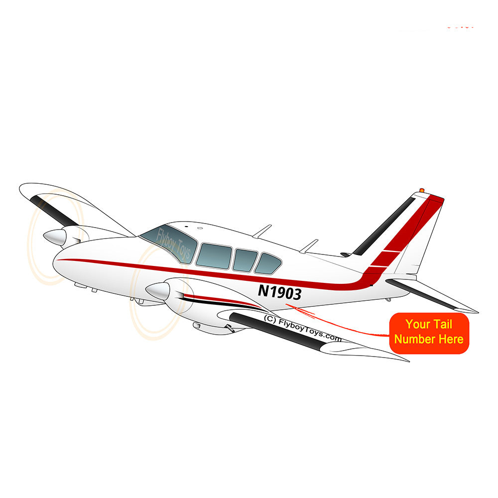 Airplane Design (Red/Black) - AIRG9G1QK-BT1