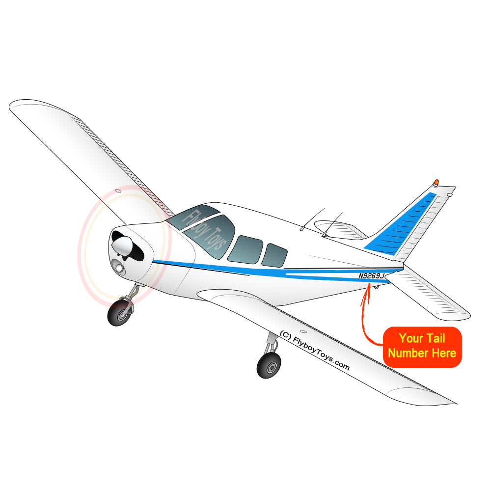 Airplane Design (Blue #1) - AIRG9G385140-B1