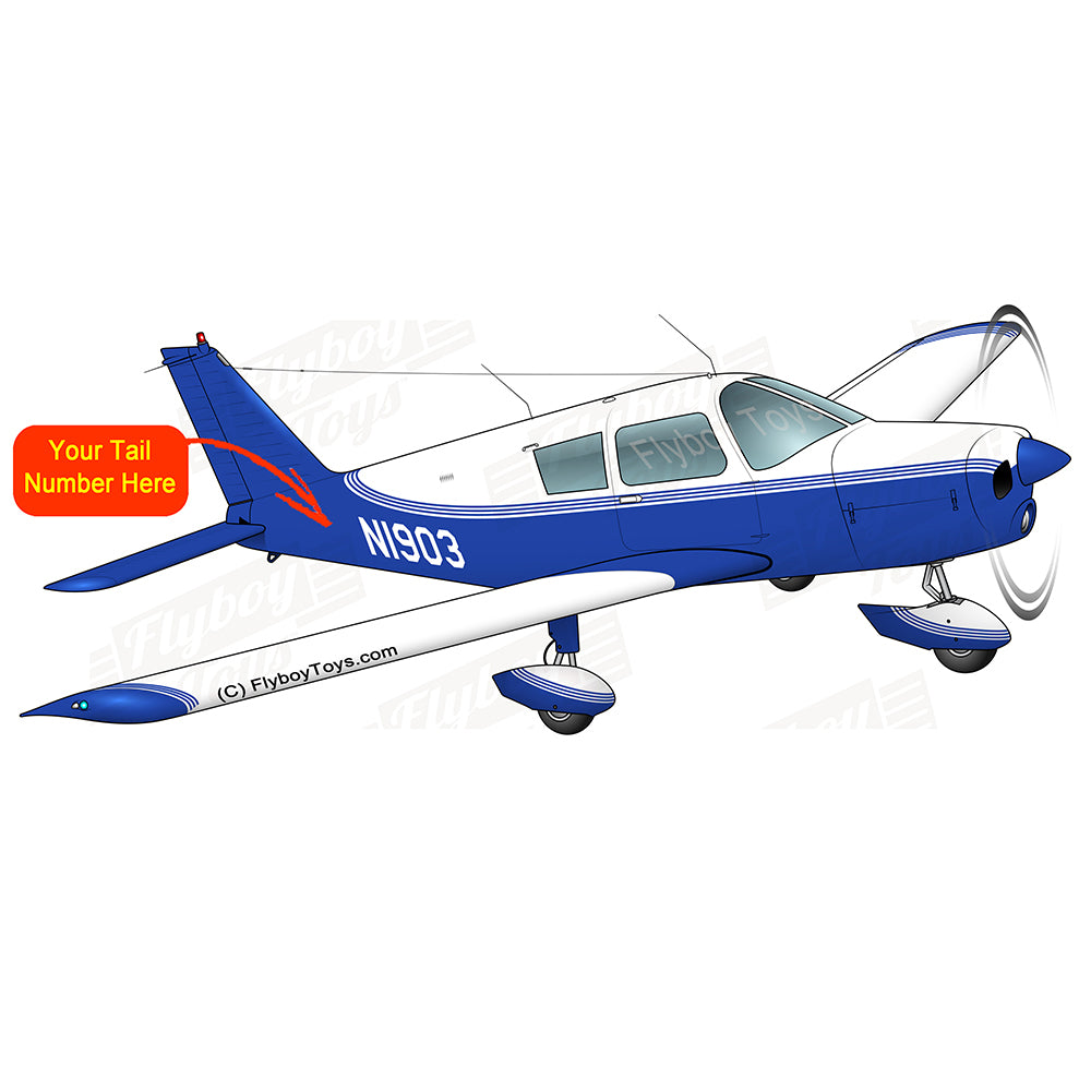 Airplane Design (Blue #2) -  AIRG9G385140-B2