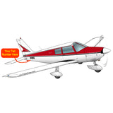 Airplane Design (Black/Red) - AIRG9G385140-BR1