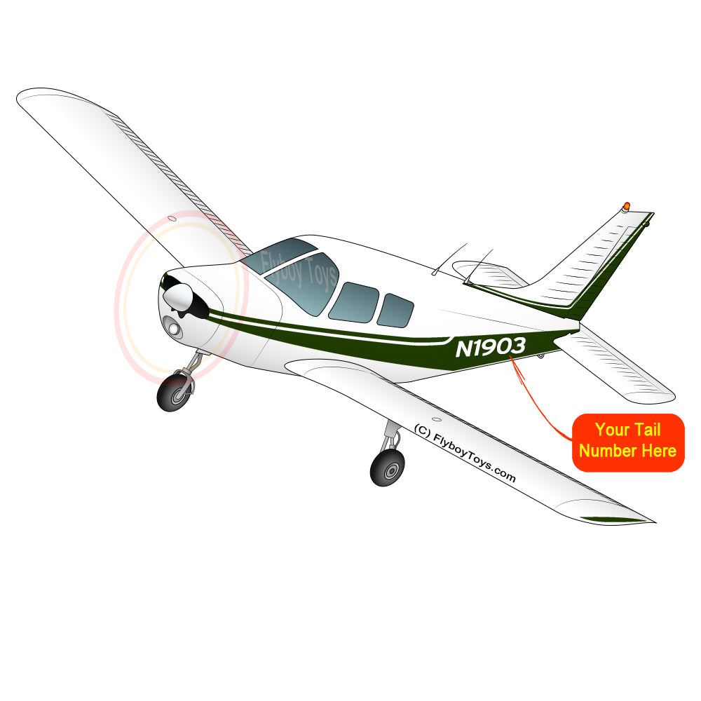 Airplane Design (Green) - AIRG9G385140-G1