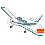 Airplane Design (Teal) - AIRG9G385140-T1
