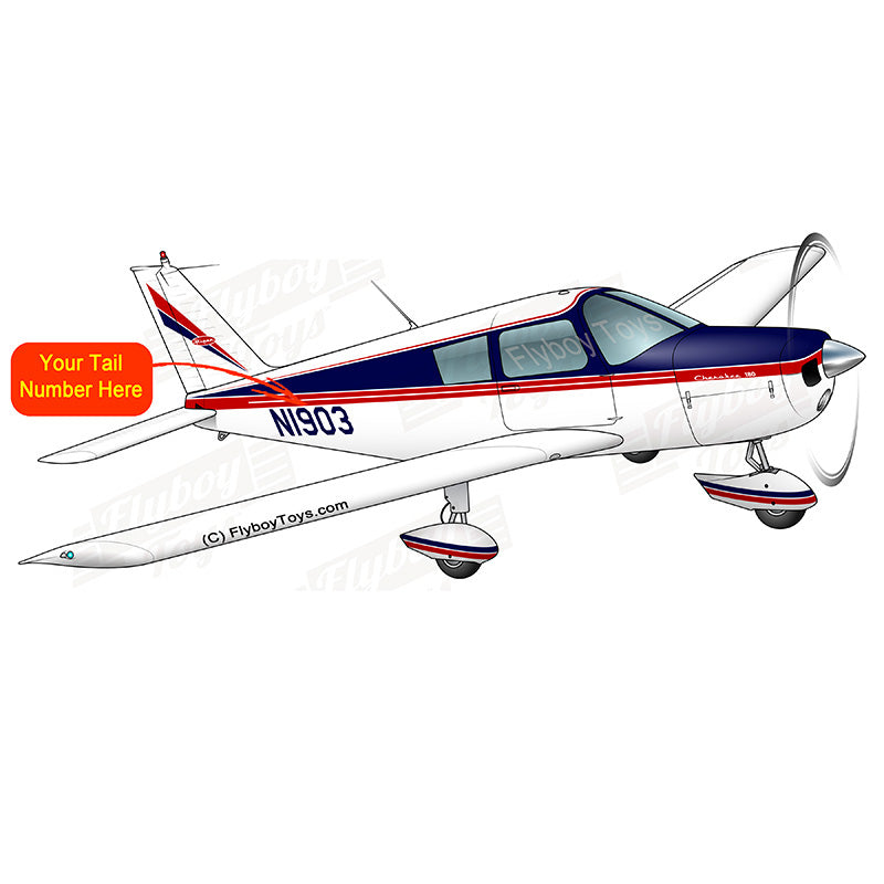 Airplane Design (Red/Blue #2) - AIRG9G385180-RB2