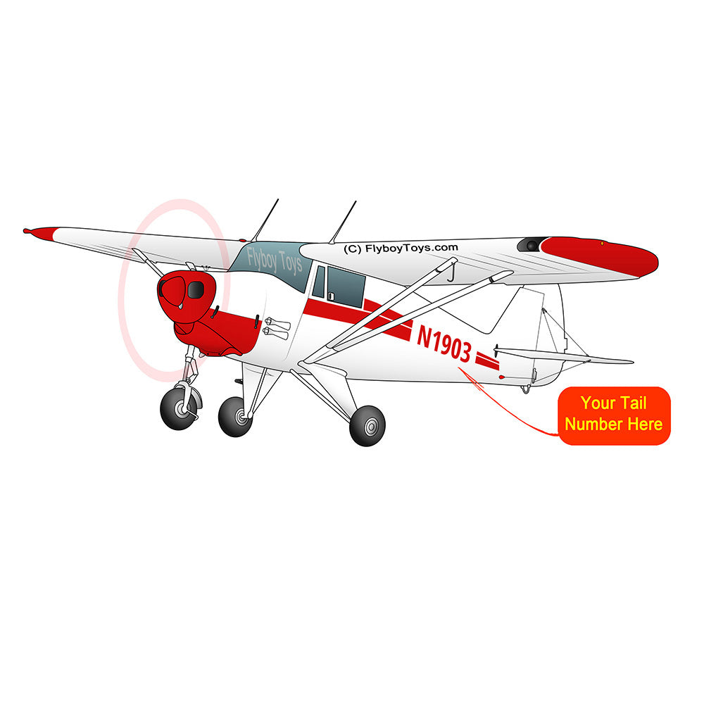 Airplane Design (Red) - AIRG9G3FC-R1