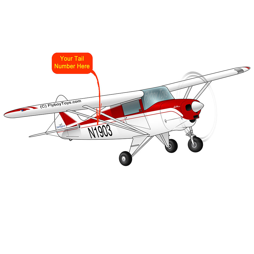 Airplane Design (Red #3) - AIRG9G3FC-R3
