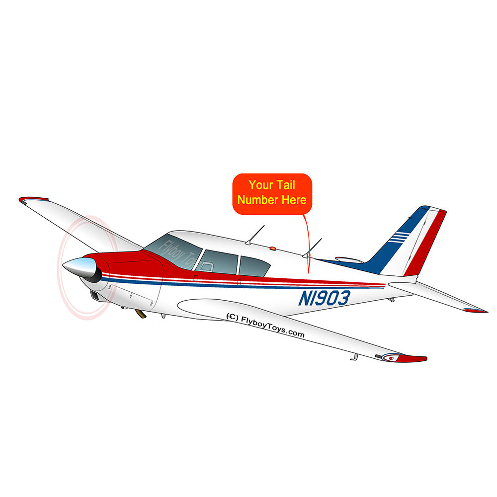Airplane Design (Red/Blue) - AIRG9G3FD180-RB1