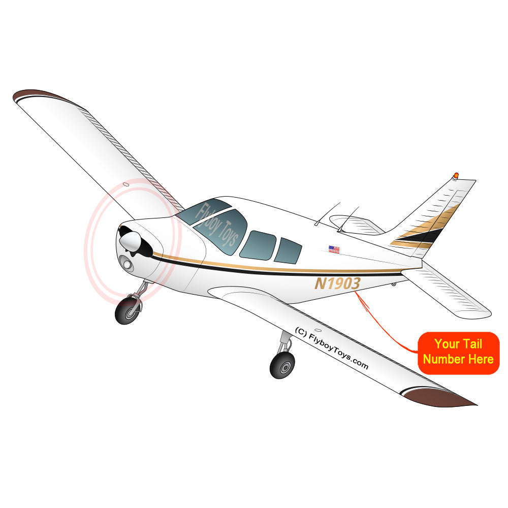 Airplane Design (Red/Black) - AIRG9G38524-GB1