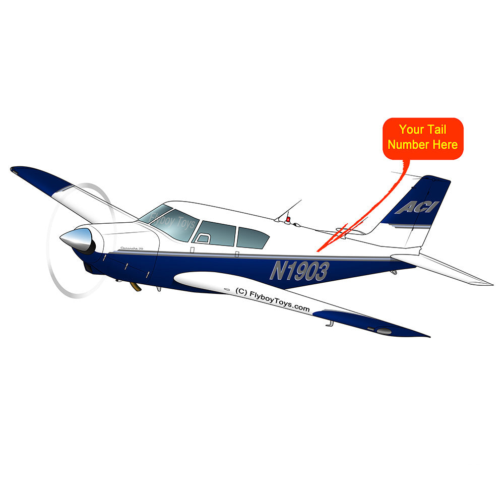 Airplane Design (Blue/Silver) - AIRG9G3FD250-BS1