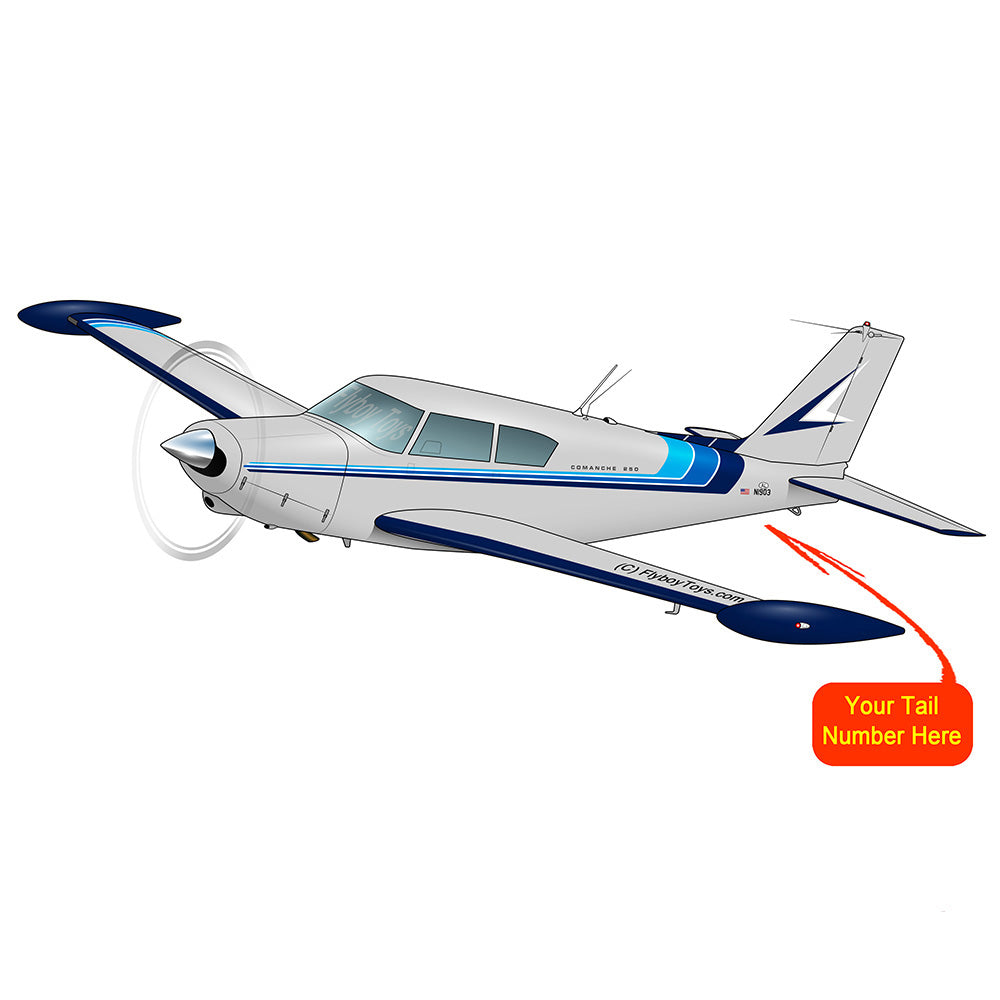 Airplane Design (Grey/Blue) - AIRG9G3FD250-GB1