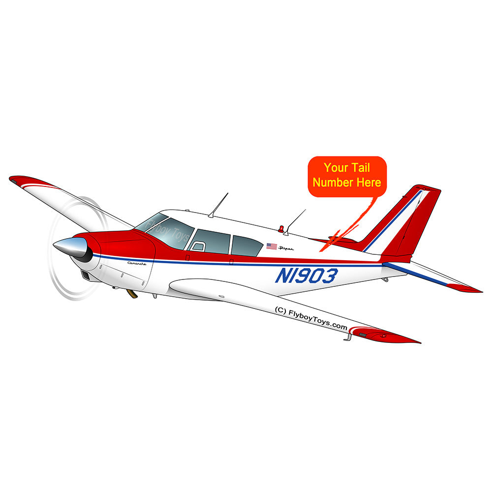 Airplane Design (Red/Blue) - AIRG9G3FD250-RB1