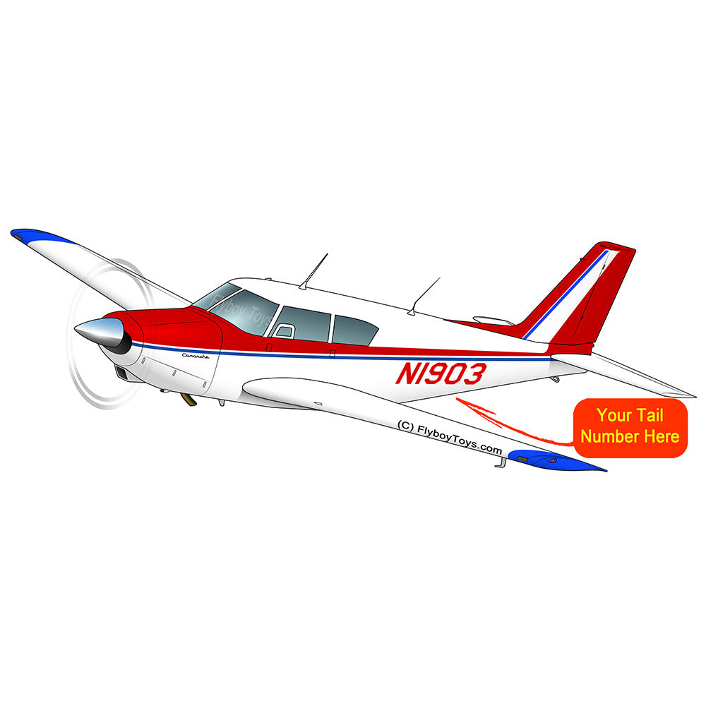 Airplane Design (Red/Blue #2) - AIRG9G3FD250-RB2