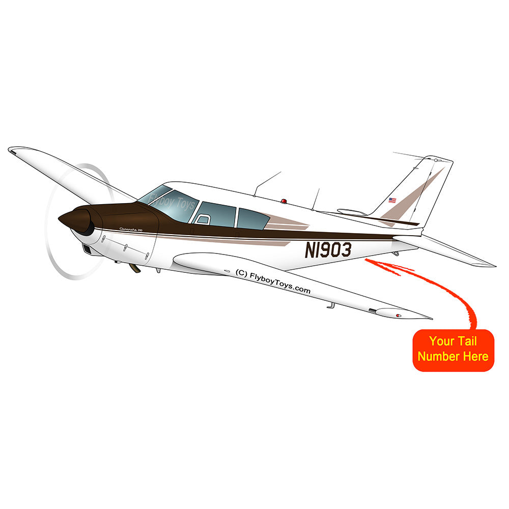Airplane Design (Brown) - AIRG9G3FD260-BRN1