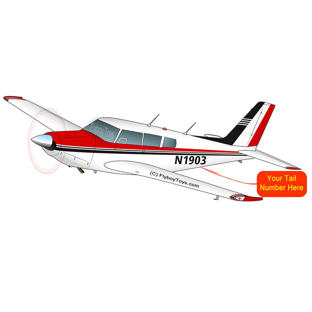 Airplane Design (Red/Black) - AIRG9G3FD260-R1