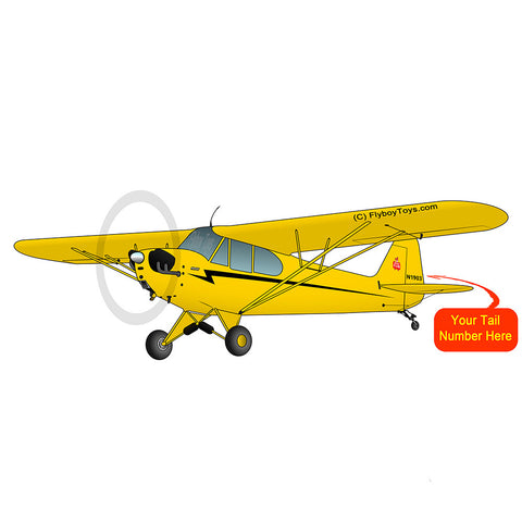 Airplane Design (Yellow) - AIRG9G3L2J3-Y1
