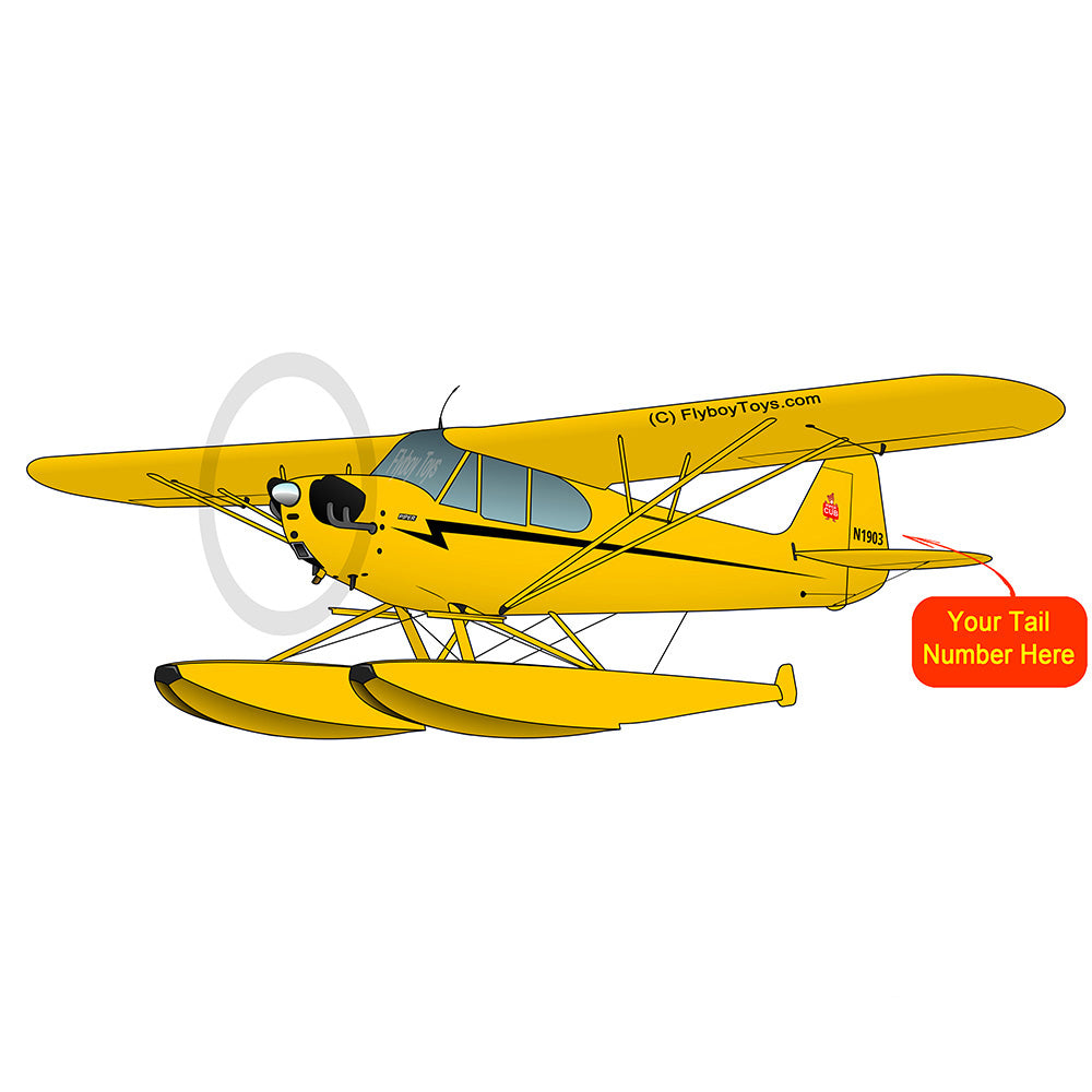 Airplane Design (Yellow/Black) - AIRG9G3L2J3FL-Y1