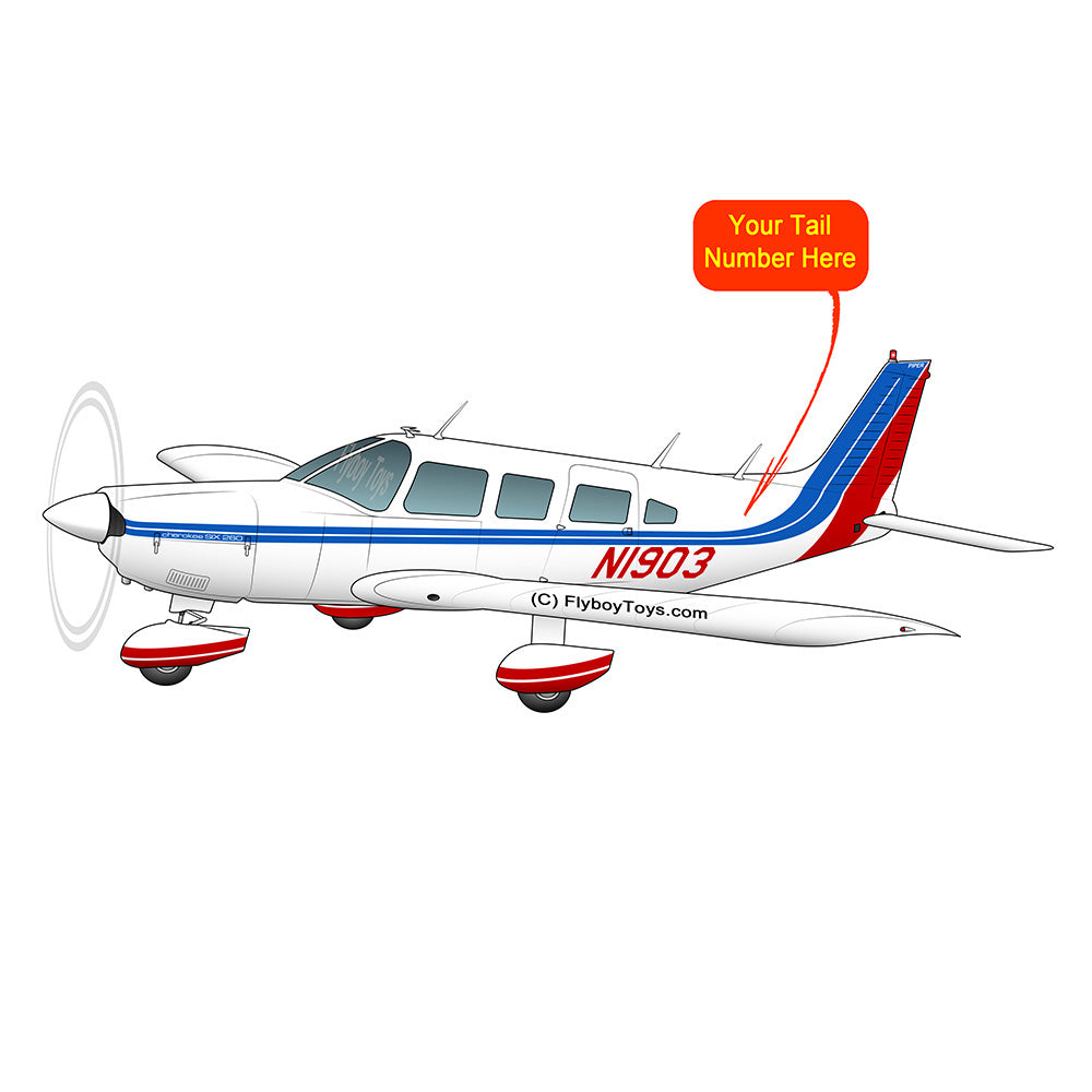 Airplane Design (Red/Blue) - AIRG9G3856-RB1