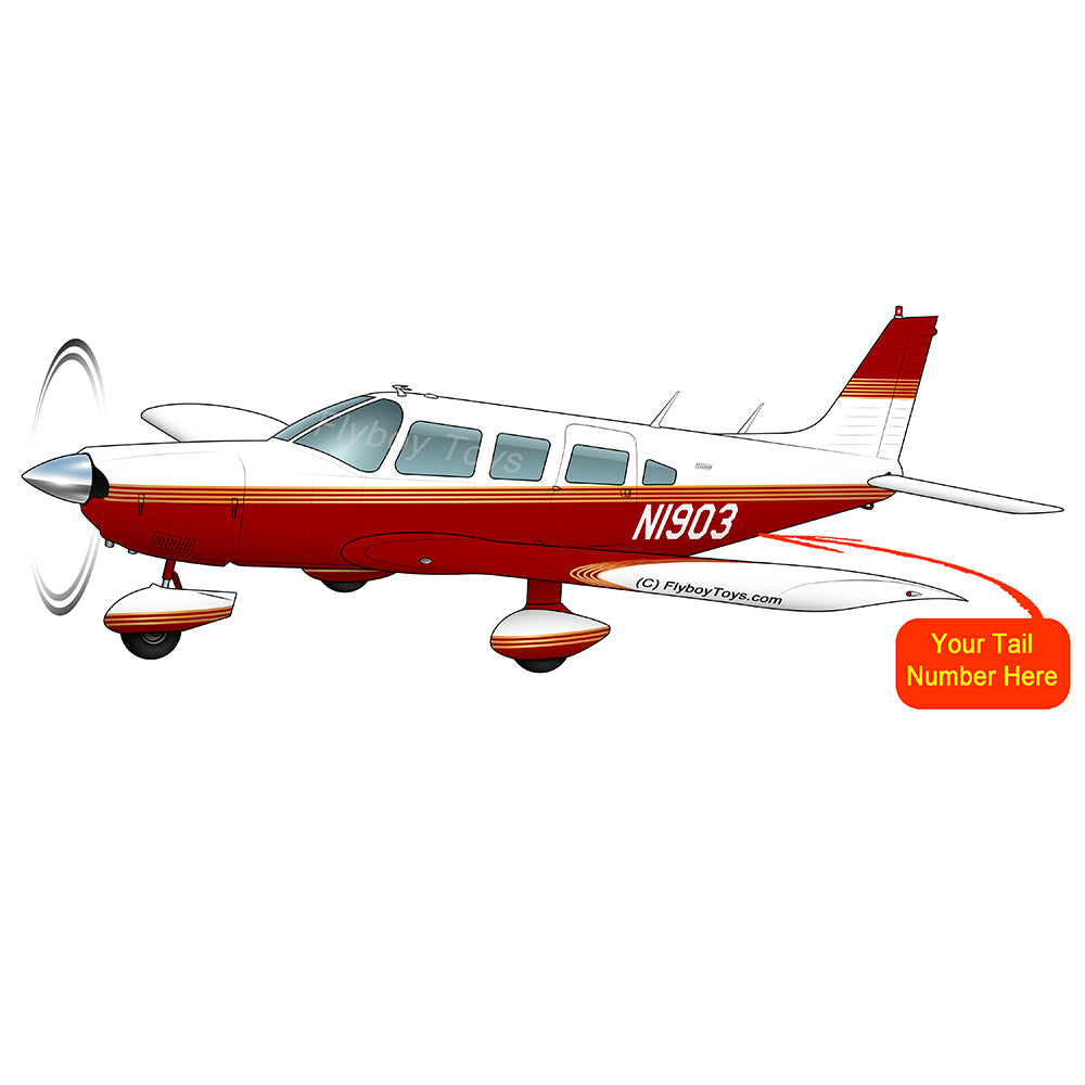 Airplane Design (Red/Orange) - AIRG9G3856-RO1